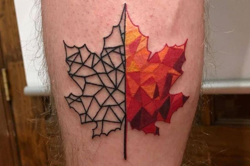 15 Canadian Tattoos To Celebrate Canada Day Alternatively